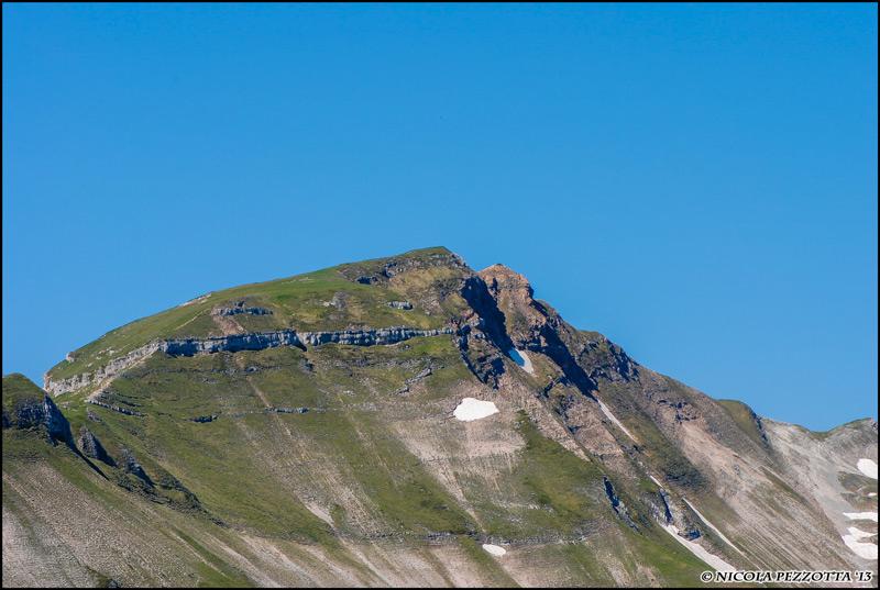 La Vetta della Sibilla con la sua inconfondibile corona rocciosa. Foto meravigliosa del mio amico Nicola Pezzotta.