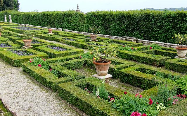 Il giardino all 39 italiana di villa buonaccorsi i viaggi - Giardino all italiana ...