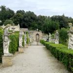 Il giardino all'italiana di Villa Buonaccorsi