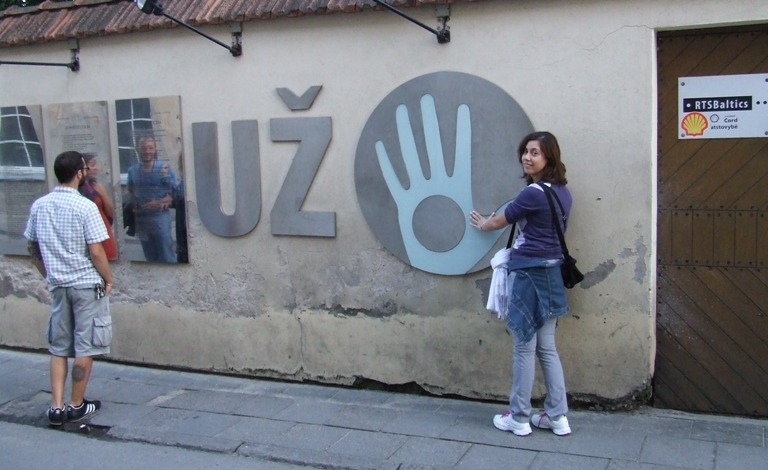 L'eclettica Repubblica di Uzupio