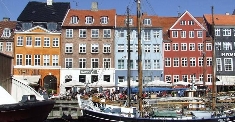 Copenaghen vista dal battello