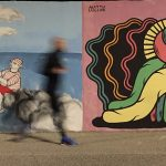 La street art colora il molo di Civitanova