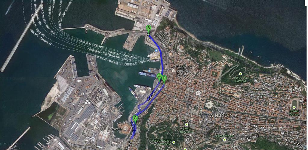 mappa_passeggiata porto ancona