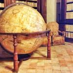 Il mappamondo (e la biblioteca) di Fermo