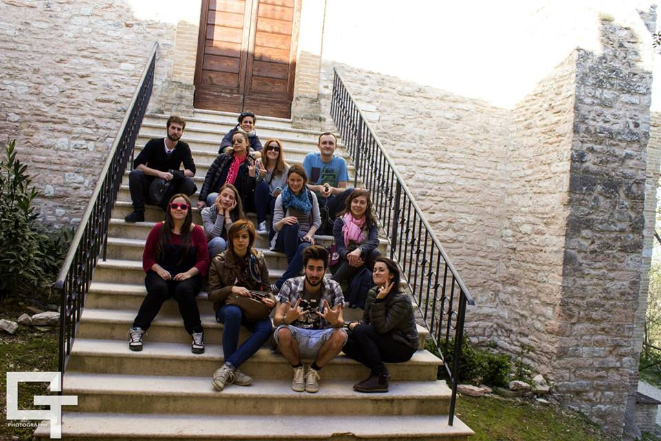 The ExploringMarche2 crazy group.