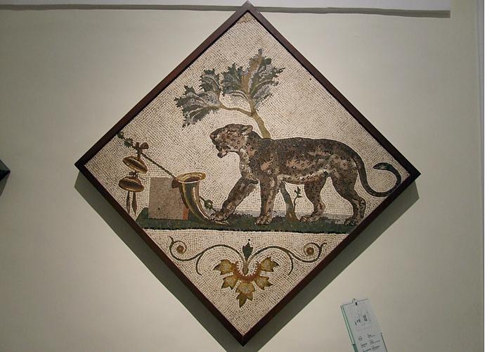 Gli stupendi mosaici di Pompei custoditi al Museo Archeologico.