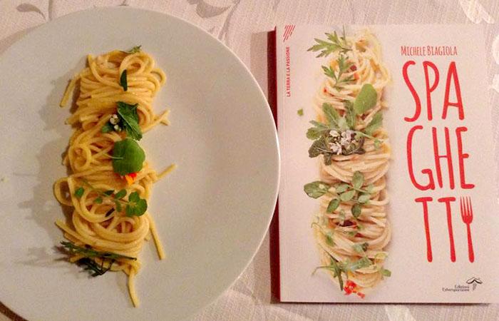 Spaghetti, il libro di ricette dello chef Michele Biagiola