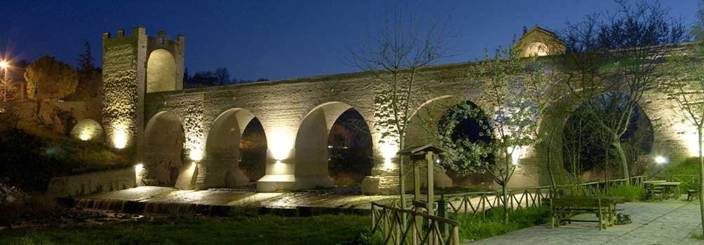 Il ponte del diavolo di Tolentino.