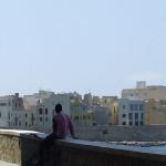 Trapani: affacciata sulle isole Egadi