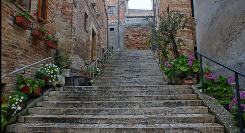 scalinata -ripatransone
