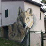 Braccano, il piccolo borgo del maceratese ricoperto di murales