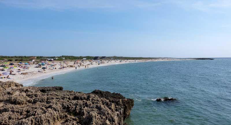La spiaggia di quarzo di Is Arutas