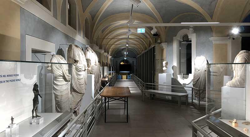 Palazzo Pianetti - Il Museo Archeologico
