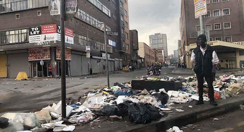 Johannesburg è pericolosa?
