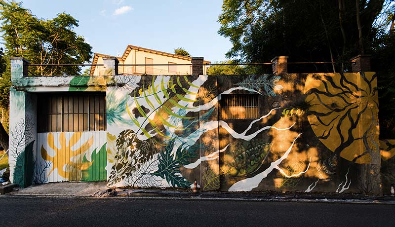Murales di Gola Hundun
