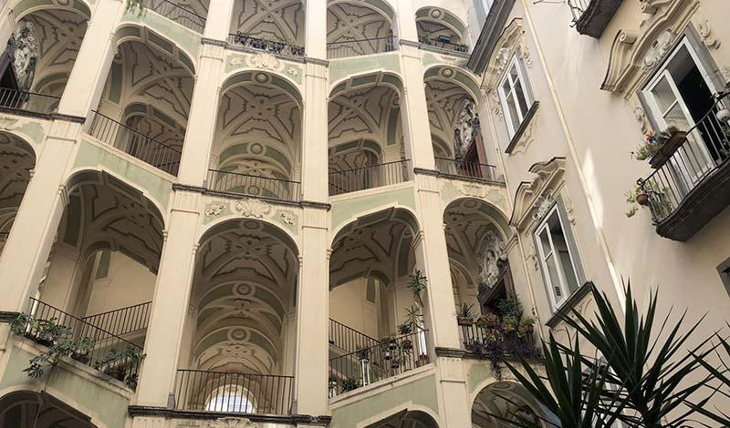 visitare il rione sanità - palazzo dello Spagnuolo