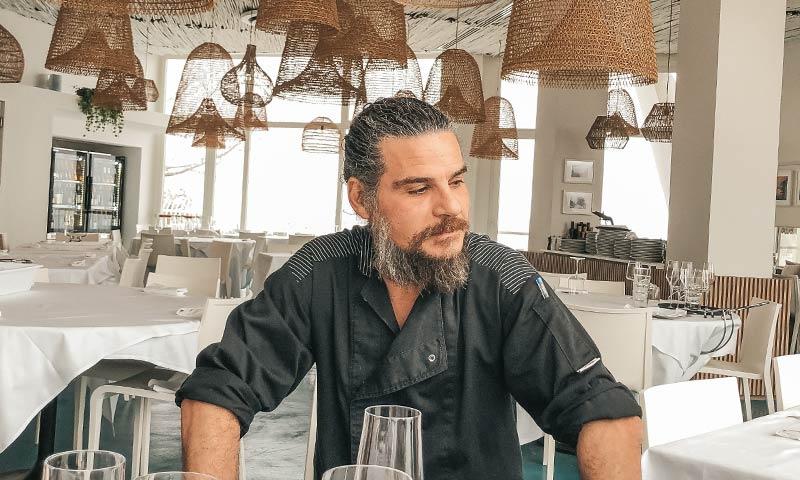 chef tizziano ristorante di pesce l'ascensore