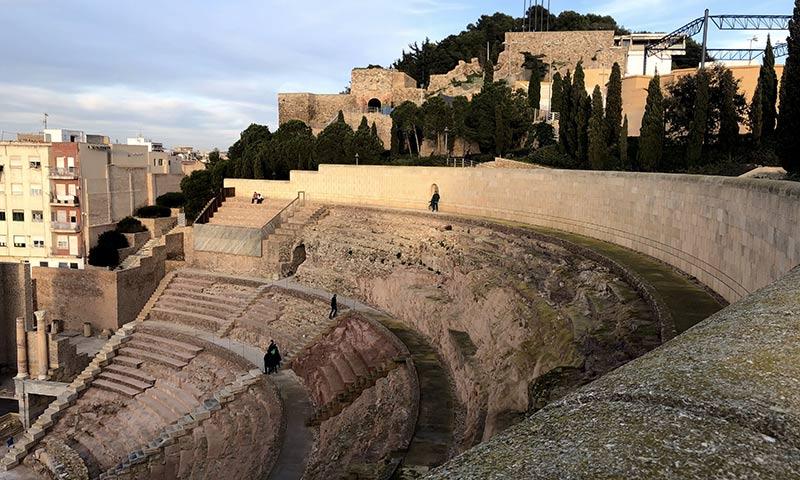 Itinerario Valencia- Alicante: il teatro romano di Cartaghena